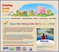 Visit Falyn's www.coloringbooksfree.com web site today!